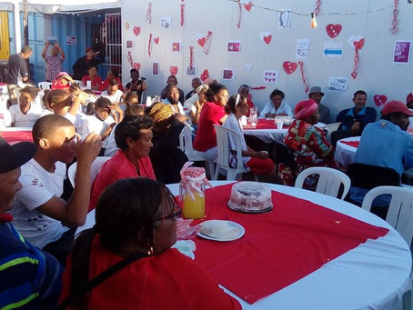 Valentine's Day event for our Seniors