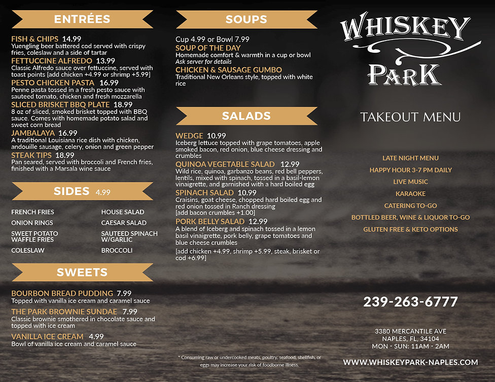 Whiskey Park Menu_Dec2020_Takeout_Page2_