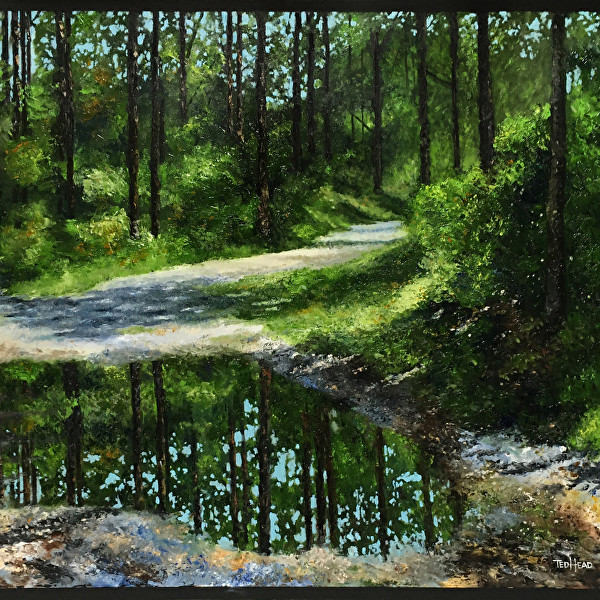 """""""Pastoral Reflections"""" Art Exhibition by Ted Head"""