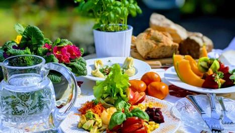 Déjeuner d'été