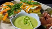 Assiette déjeuner Velouté/Sandwich
