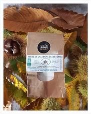 Farine de châtaignes des Cévennes - 250g