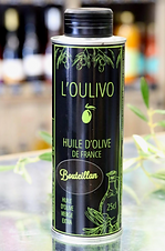 Huile d'olive Bouteillan par l'Oulivo