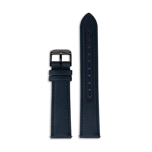 NAVY CANVAS STRAP