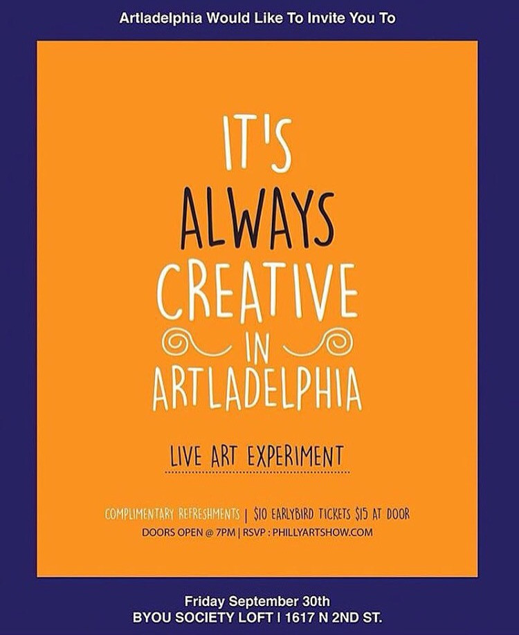 It's Always Creative in Artladelphia