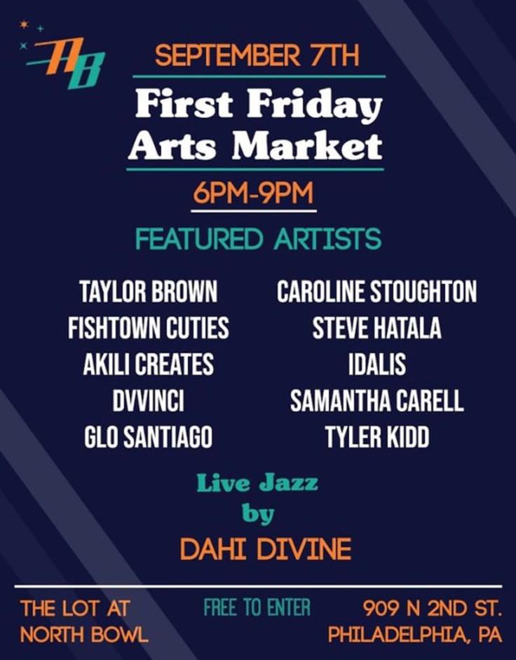 First Friday Arts Market