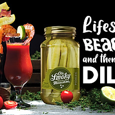 Ole Smokey spiked pickle bloody Mary