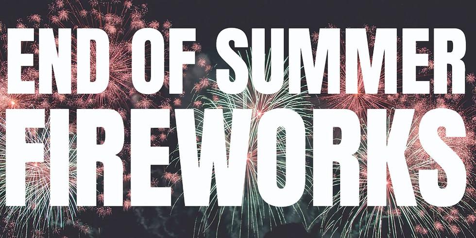 End of Summer Fireworks Show