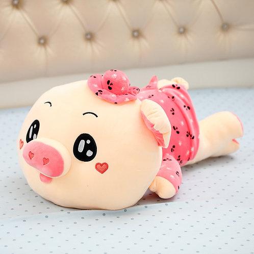 Розовый поросёнок - мягкая игрушка