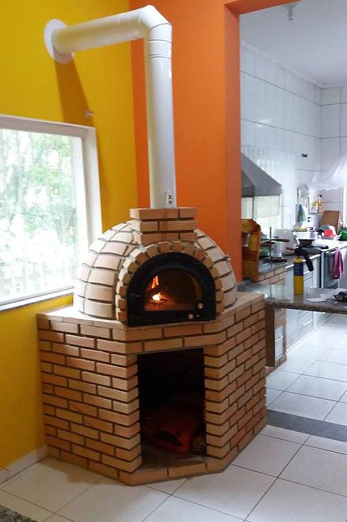 Forno para pizza, forno de pizza, forno igloo, forno a lenha.
