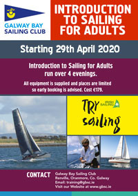 2020 Adult Introduction to Sailing