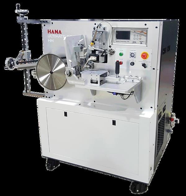Hana HM manual brazer, tipping machine