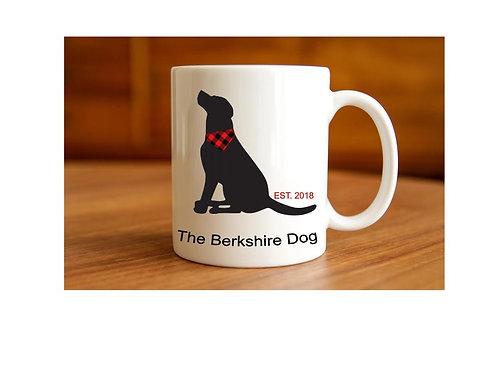 The Berkshire Dog Mug