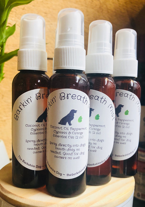 Barkin' Breath Mist (2 oz)