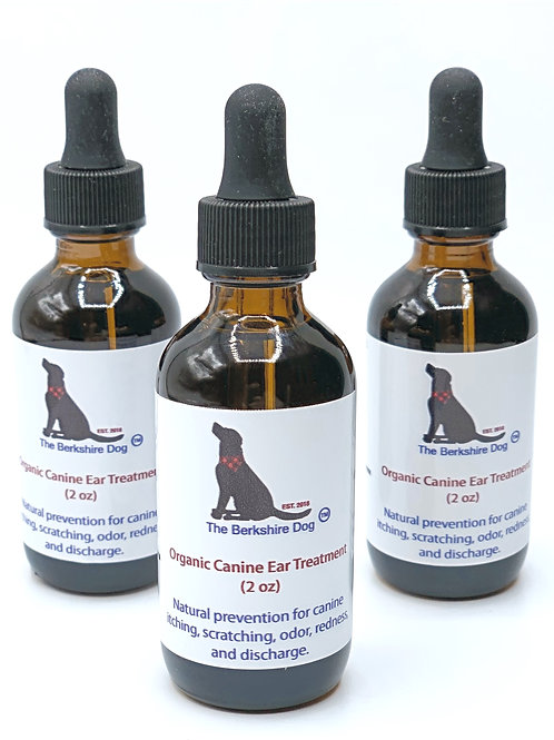 Organic Canine Ear Oil