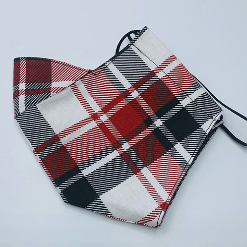 Plaid Adult Mask