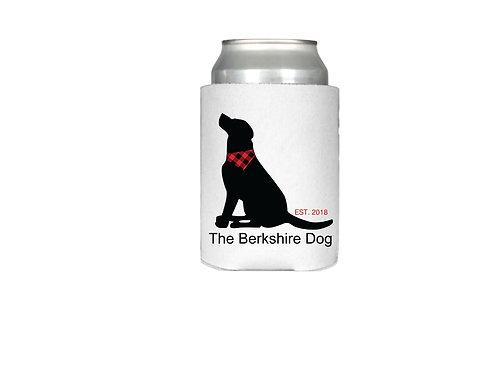The Berkshire Dog Can Koozie