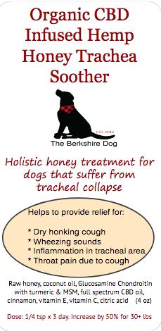 Organic CBD Infused Hemp Honey Trachea Soother  (4 oz)