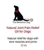 Natural Joint Pain Relief Oil for Dogs (2 oz)