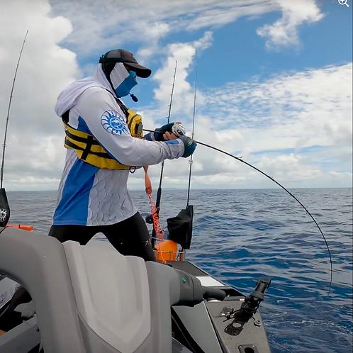 "Jetfisher Extreme Sun Protection Shirt ""Scaley White"""