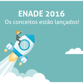 ENADE 2016   OS CONCEITOS ESTÃO LANÇADOS!