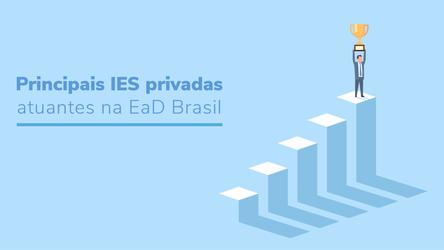Principais IES privadas atuantes na EaD Brasil