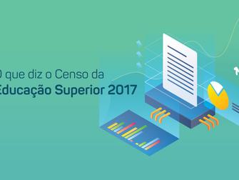 O QUE DIZ O CENSO DA EDUCAÇÃO SUPERIOR 2017