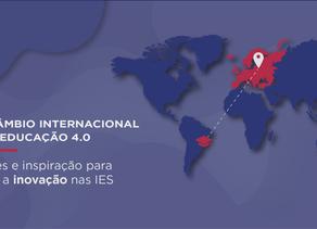 Intercâmbio Internacional para a Educação 4.0: Conexões e inspiração para acelerar a inovação nas IE