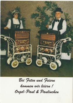 Paul & Paulinchen  - Drehorgel