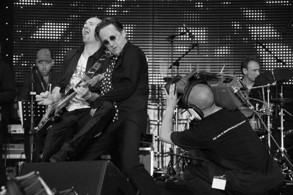 Andreas Weitersagen mit Band