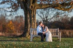 Engagement photography at Waveny, Park