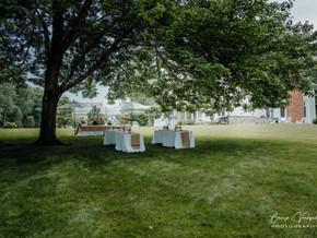 Backyard wedding photography- New Canaan, CT