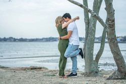 Engagement Photography at Fairfield beach