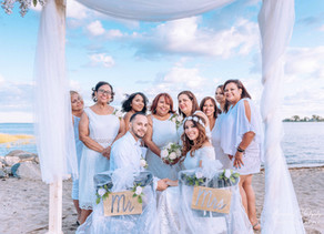 Beach Wedding Photography at Cove Island - Stamford, CT