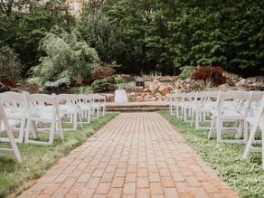 Wedding Ceremony at Crystal Room, Naugatuck, CT