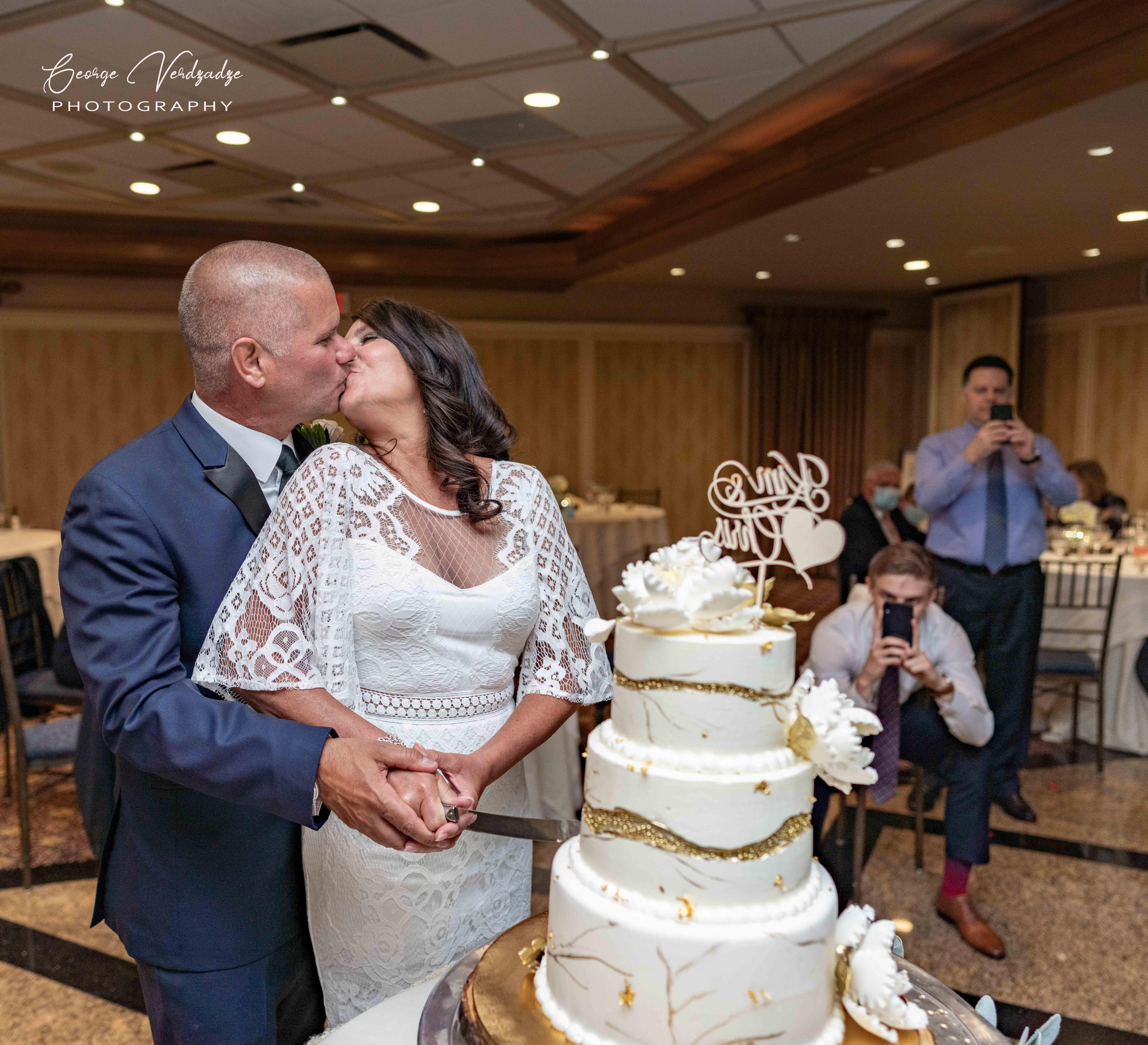 Indoor wedding photography in Darien, CT