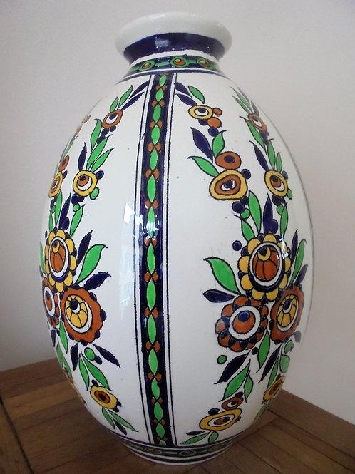 vase art deco keramis Charles Catteau