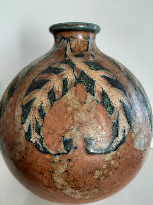 vase Louis Lourioux art deco