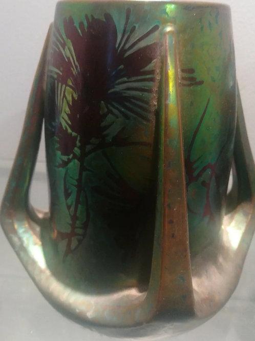 vase art nouveau Clément Massier
