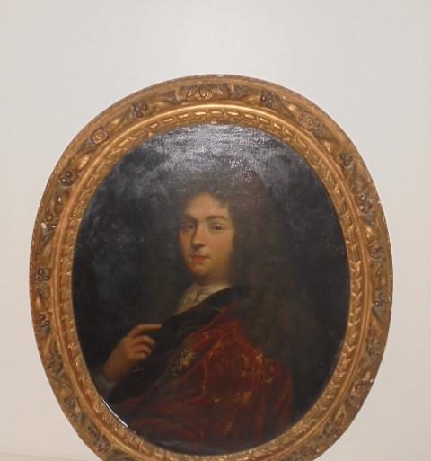 Portrait 17 ème siècle homme de qualité