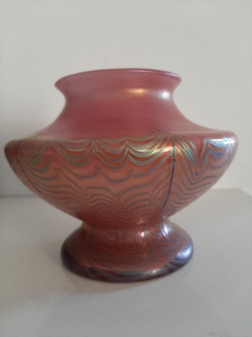 Vase art nouveau verrerie Loetz