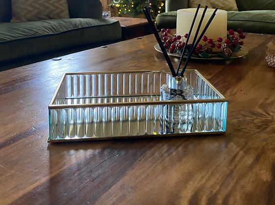 Gold rimmed trinket tray