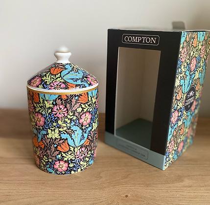 William Morris Compton Scented Candle Jar