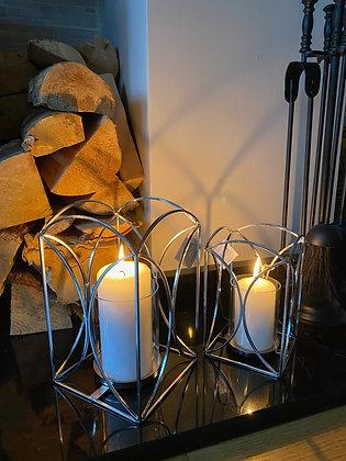 Silver wire lanterns