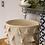 Thumbnail: Cream tassel storage basket