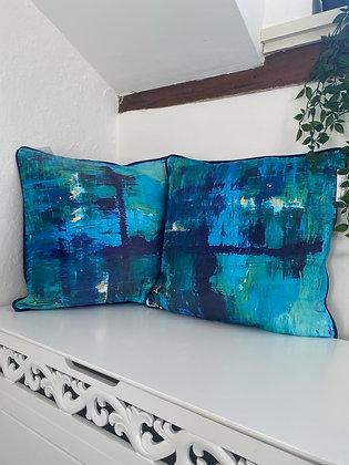 The mesmerise cushion x 2
