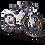 """Bicicletta a pedalata assistita da trekking MTF Road 6.1 con ruote da 28"""" per hotel e centri noleggio e-bike"""
