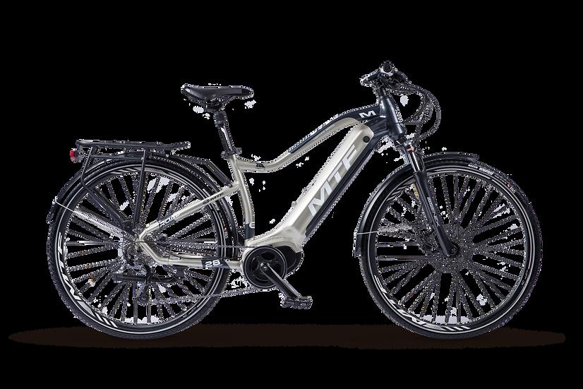 E-bike da trekking MTF Road 6.1 con 180 km di autonomia vista lateralmente