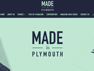 'MADE in PLYMOUTH' cover us in this great article...