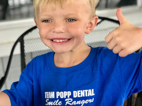 "Team Popp ""Smile Ranger of the Month"" Announced for July, August, and September!"
